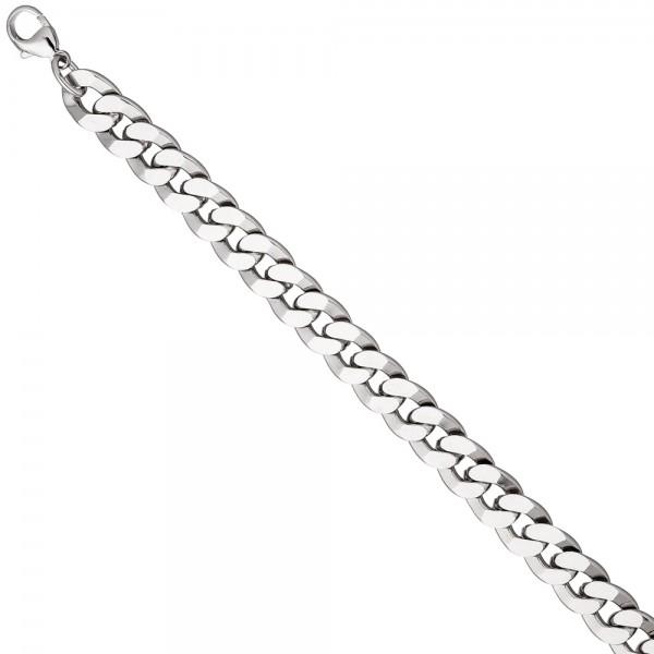Panzerarmband 925 Sterling Silber diamantiert 23 cm Armband Silberarmband