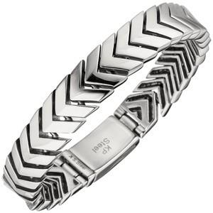 Herren Armband Edelstahl 21 cm