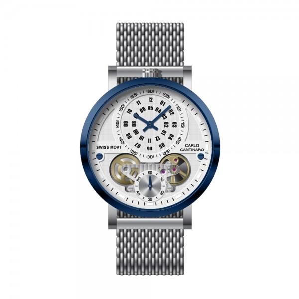Carlo Cantinaro CC1004GM013 Herrenuhr Quarzmatic GMT
