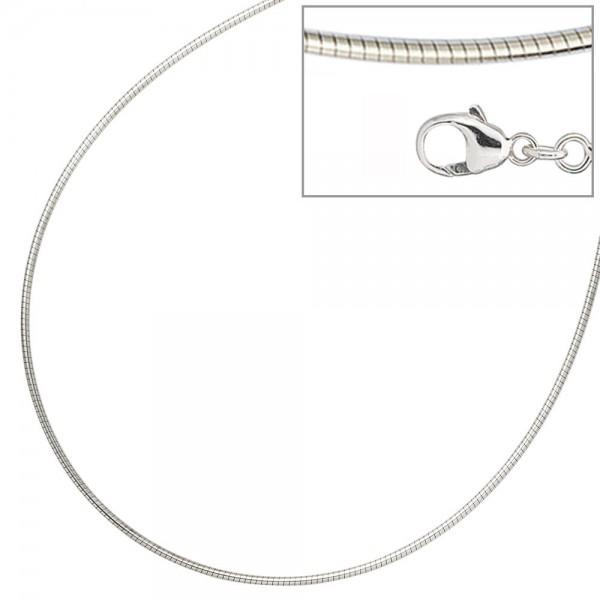 Halsreif 925 Sterling Silber 1,4 mm 45 cm Kette Halskette Silberhalsreif