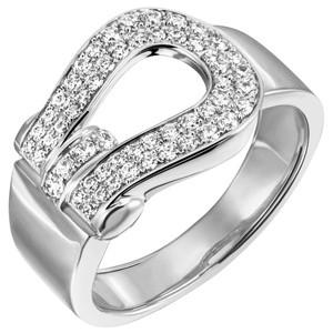 Damen Ring 925 Sterling Silber 55 Zirkonia Silberring
