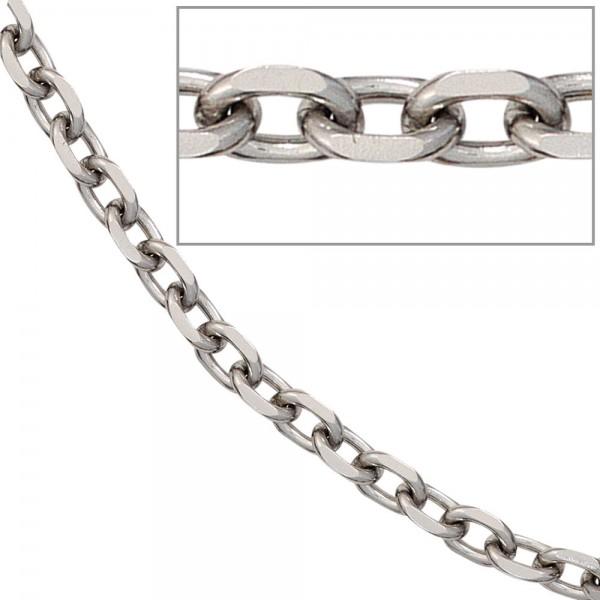 Ankerkette Edelstahl 4,3 mm 50 cm Halskette Kette Karabiner