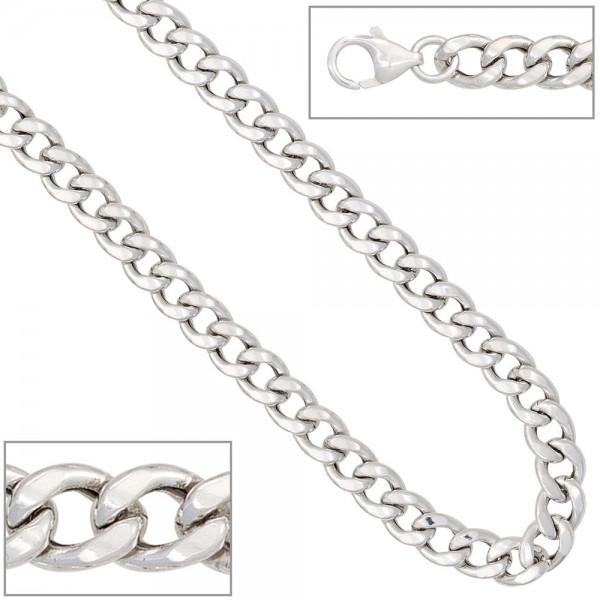 Panzerarmband Armband 925 Sterling Silber 19 cm Silberarmband Karabiner