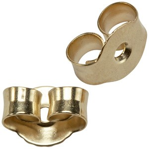 Pousetten 925 Sterling Silber Gold vergoldet Verschluss für Ohrstecker
