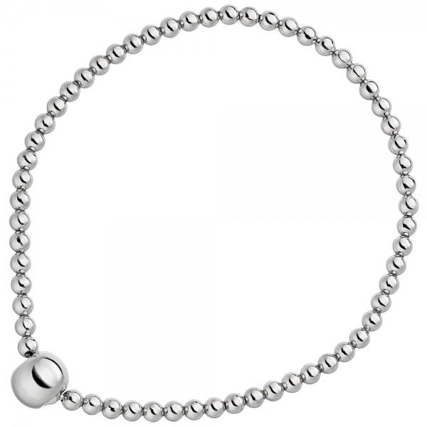 Armband 925 Sterling Silber Silberarmband endlos elastisch