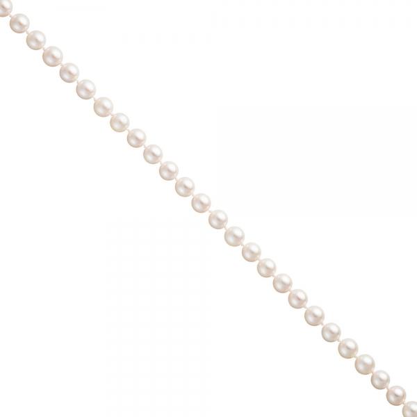 Akoya Perlen Schnur weiß Durchmesser ca. 7-7,5 mm ohne Schließe