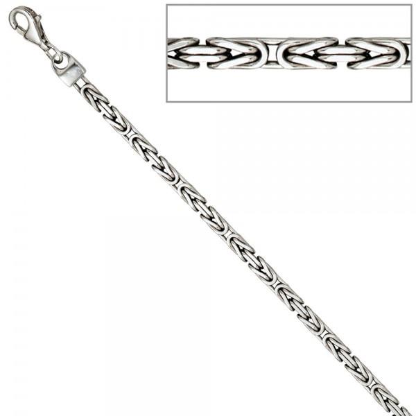 Königskette 925 Sterling Silber 3,1 mm 45 cm Halskette Kette Silberkette