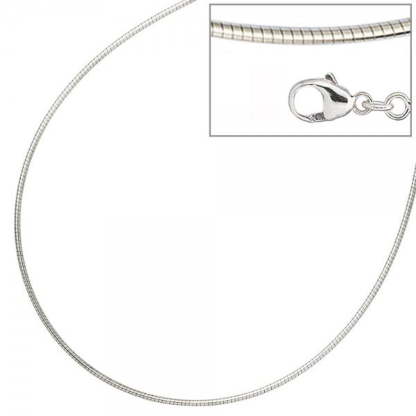 Halsreif 925 Sterling Silber 1,4 mm 42 cm Kette Halskette Silberhalsreif