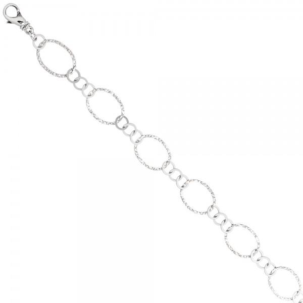 Halskette Kette 925 Sterling Silber 80 cm Silberkette Karabiner