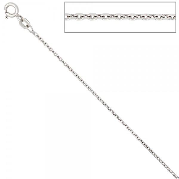 Ankerkette 925 Silber 1,5 mm 50 cm Halskette Kette Silberkette Federring