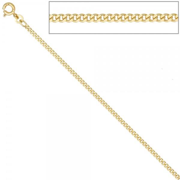 Panzerkette 585 Gelbgold 2,1 mm 45 cm Gold Kette Halskette Goldkette Federring