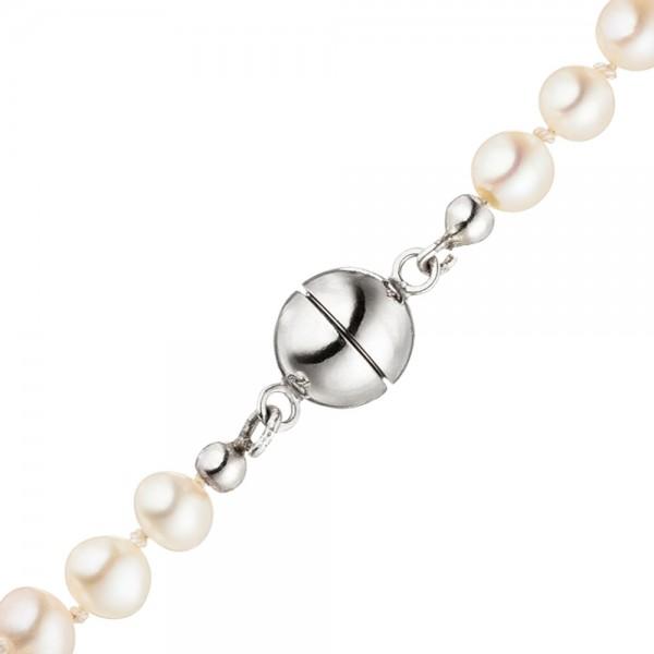 Magnet-Schließe aus 925 Sterling Silber Verschluss für Perlenketten