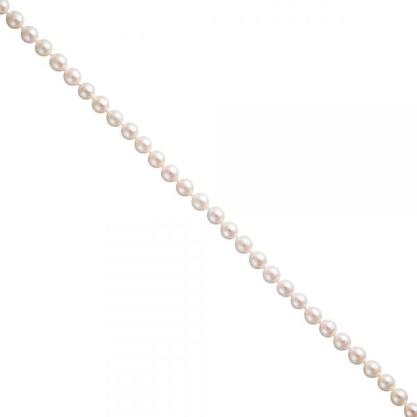 Akoya Perlen Schnur weiß Durchmesser ca. 6-6,5 mm ohne Schließe
