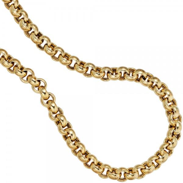 Erbskette 585 Gelbgold 6,1 mm 45 cm Gold Kette Halskette Goldkette Karabiner