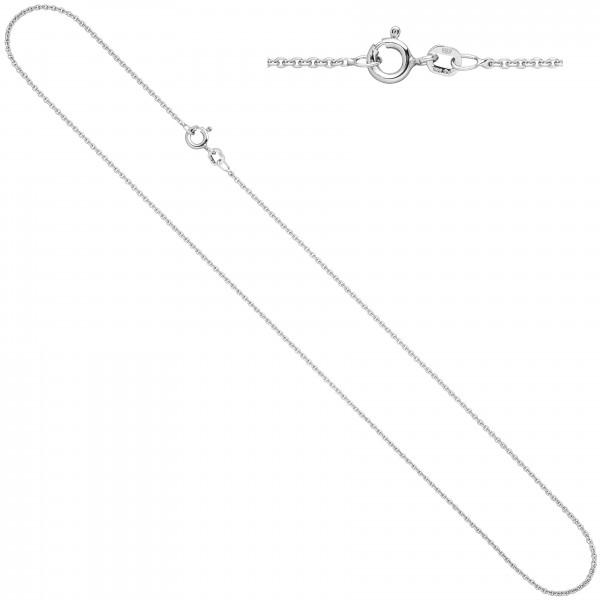 Ankerkette 925 Sterling Silber 1,5 mm 50 cm Kette Halskette Silberkette Federring