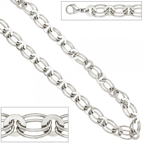 Armband 925 Sterling Silber rhodiniert 19 cm Silberarmband Karabiner