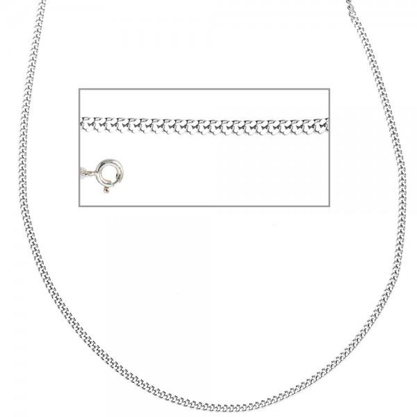 Panzerkette 925 Sterling Silber 2 mm 42 cm Halskette Kette Silberkette Federring