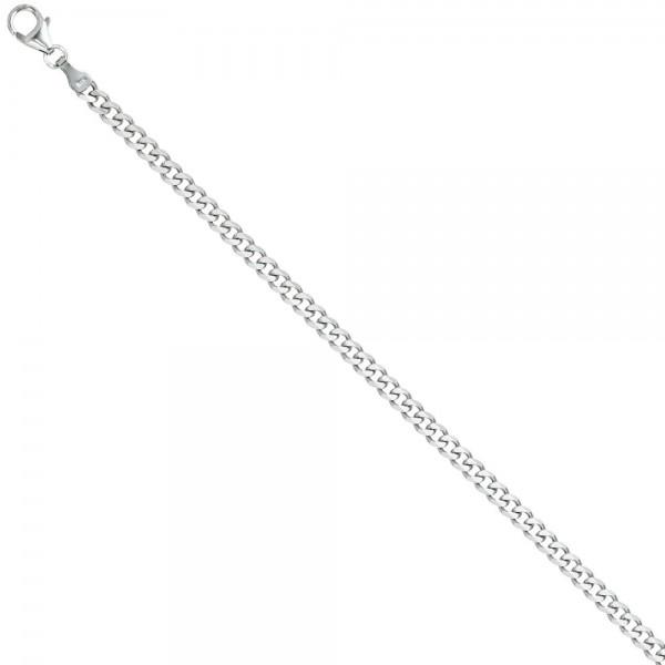 Panzerarmband 925 Sterling Silber 19 cm Armband Silberarmband Karabiner