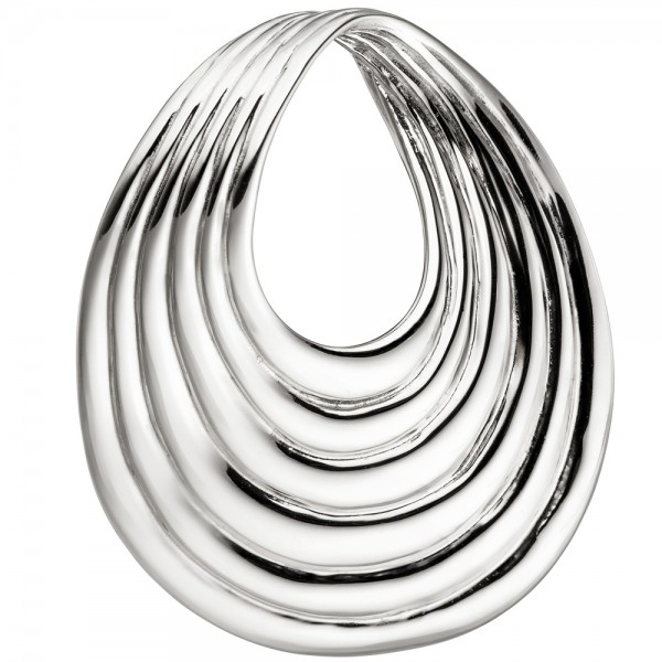 Anhänger Tropfen 925 Sterling Silber Silberanhänger