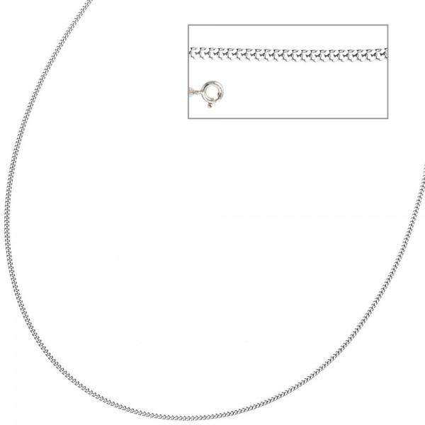 Panzerkette 925 Sterling Silber 1,7 mm 36 cm Halskette Kette Silberkette