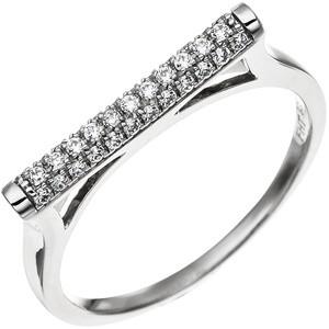 Damen Ring aus 925 Sterling Silber mit 35 Zirkonia