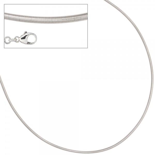 Halsreif 925 Sterling Silber 1,8 mm 45 cm Kette Halskette Silberhalsreif