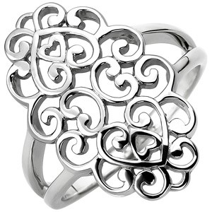 Damen Ring Sterling Silber Silberring