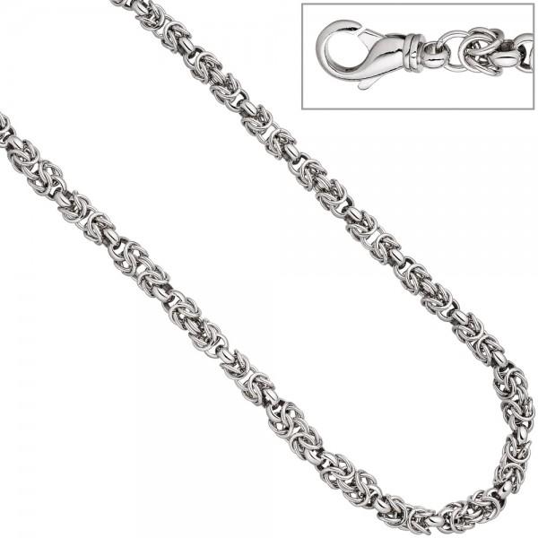 Halskette Kette 925 Sterling Silber 50 cm Silberkette Karabiner
